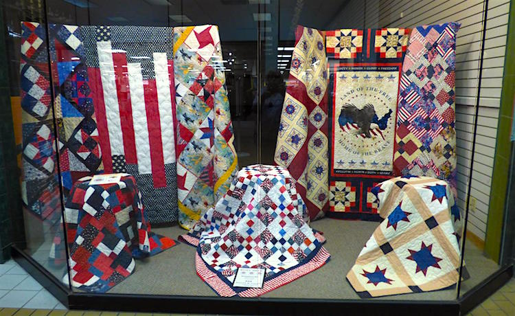 Making a Difference – Quilts of Valor Honoring Veterans