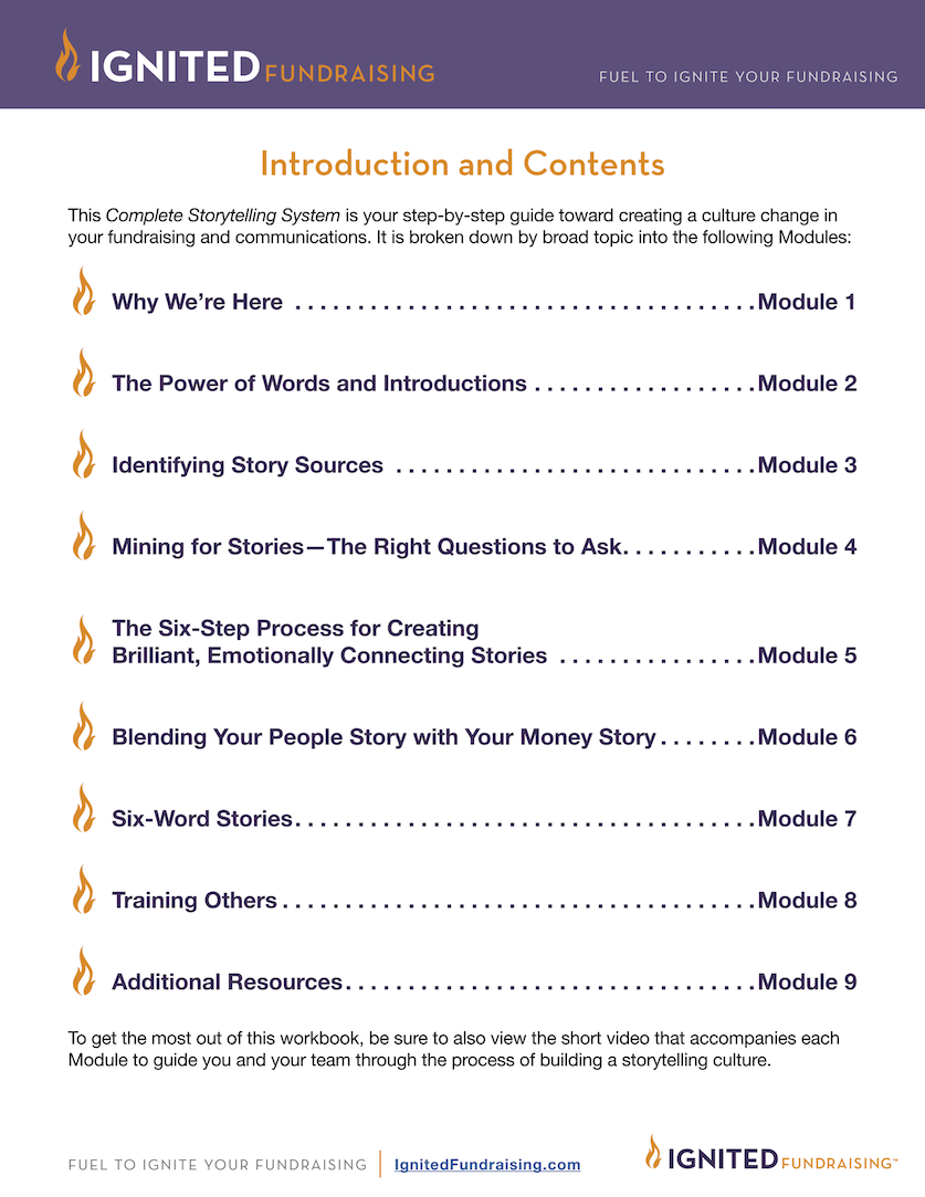 Table of Contents_CompleteStorytellingSystem