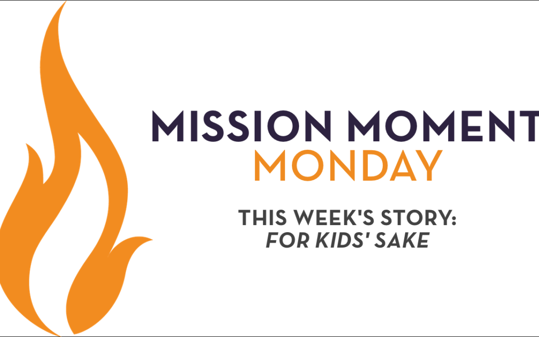 Mission Moment Monday: Don't 'Step Over' What You Do to Change Lives