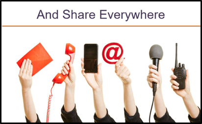 Share Your Nonprofit Stories Everywhere