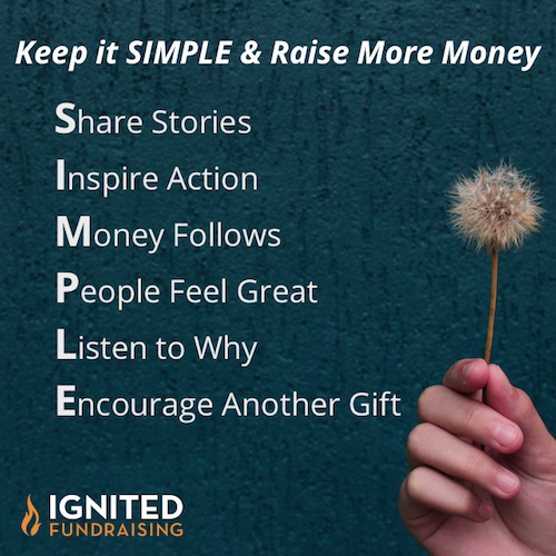 SIMPLE Actions = Effective Annual Fundraising Plan