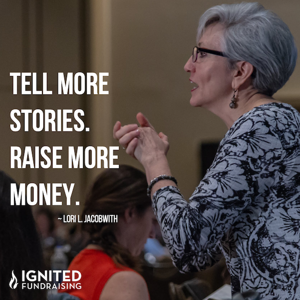 Share stories. Raise more money.