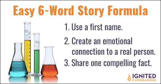 six word story formula
