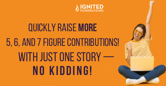 One Story = Big Money — No Kidding!