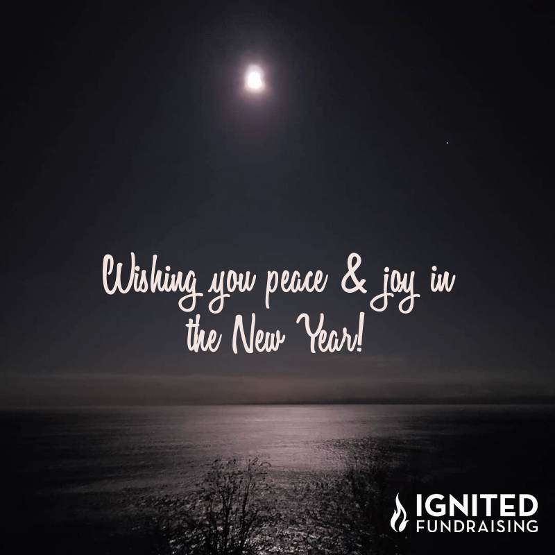 Wishing you peace and joy in the new year