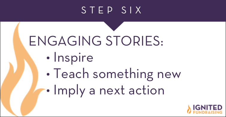 Stories Keep Donors Engaged & Giving